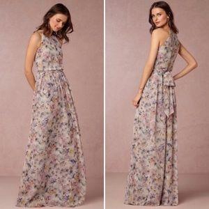 Donna Morgan Collection BHLDN Floral Maxi Size 4